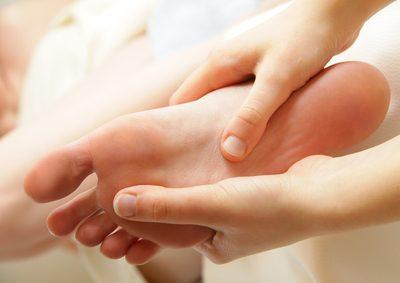 Fußreflexzonen-Therapie